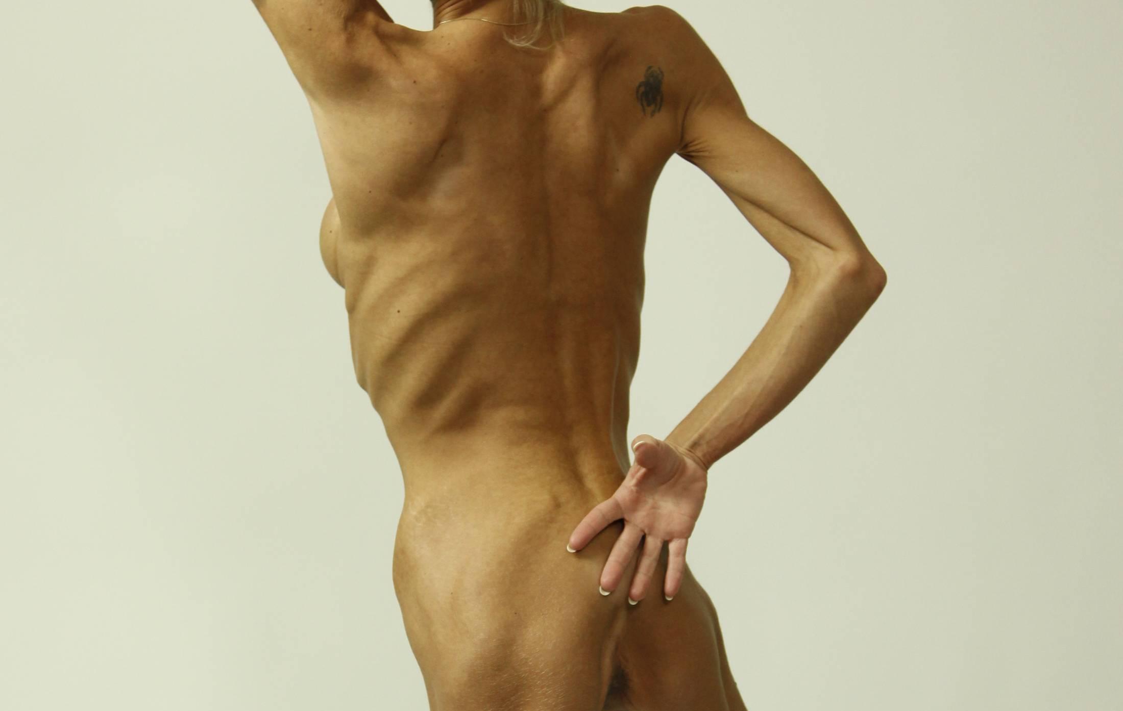 Тощая худую анорексичку 8 фотография