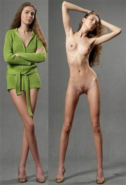 бесплатные фото худых голых девушек