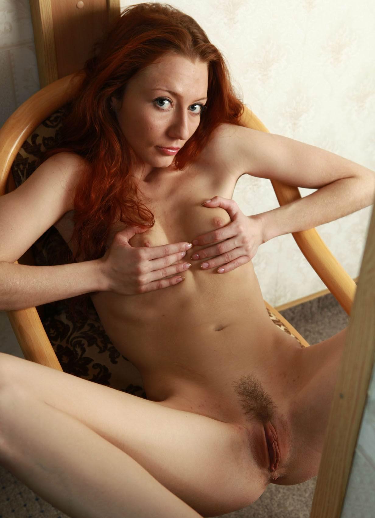 Skinny redhead porn