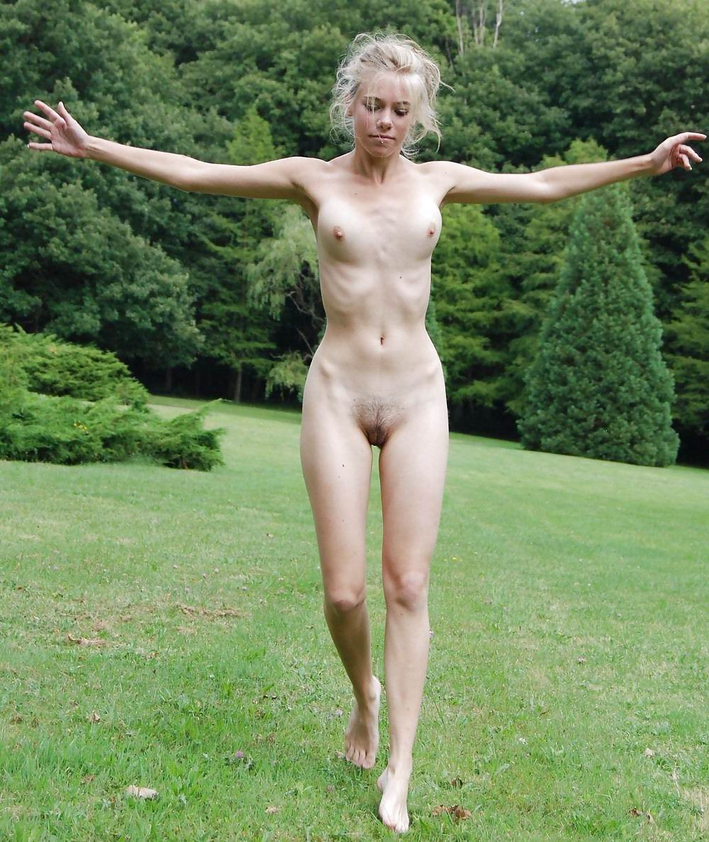 skinny girl nude