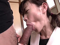 anorexic asian girl in rough ffm threesome