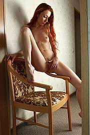 skinny anorexic girls posing nude for food