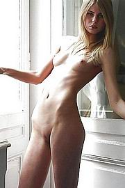 skinny anorexic girls posing nude for money