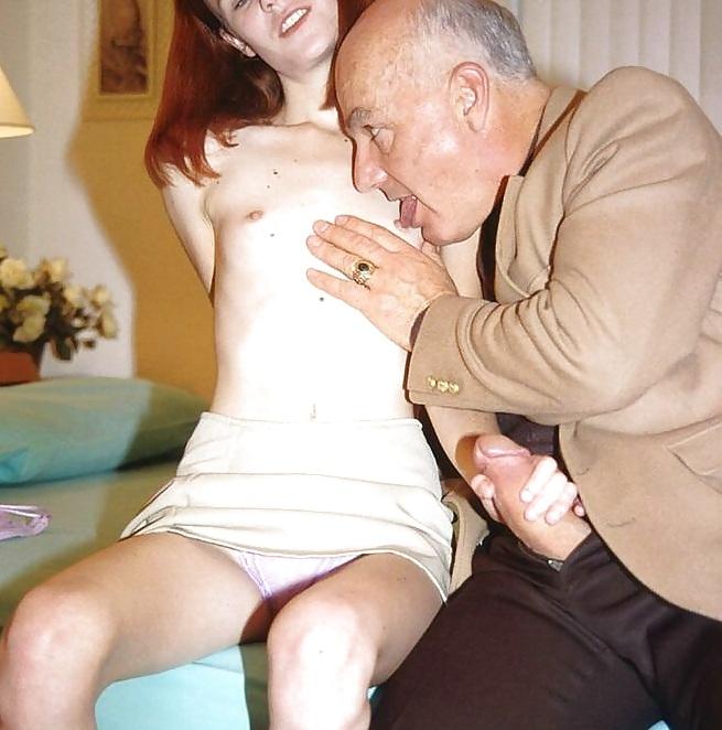 дедуля ебет внучку фото