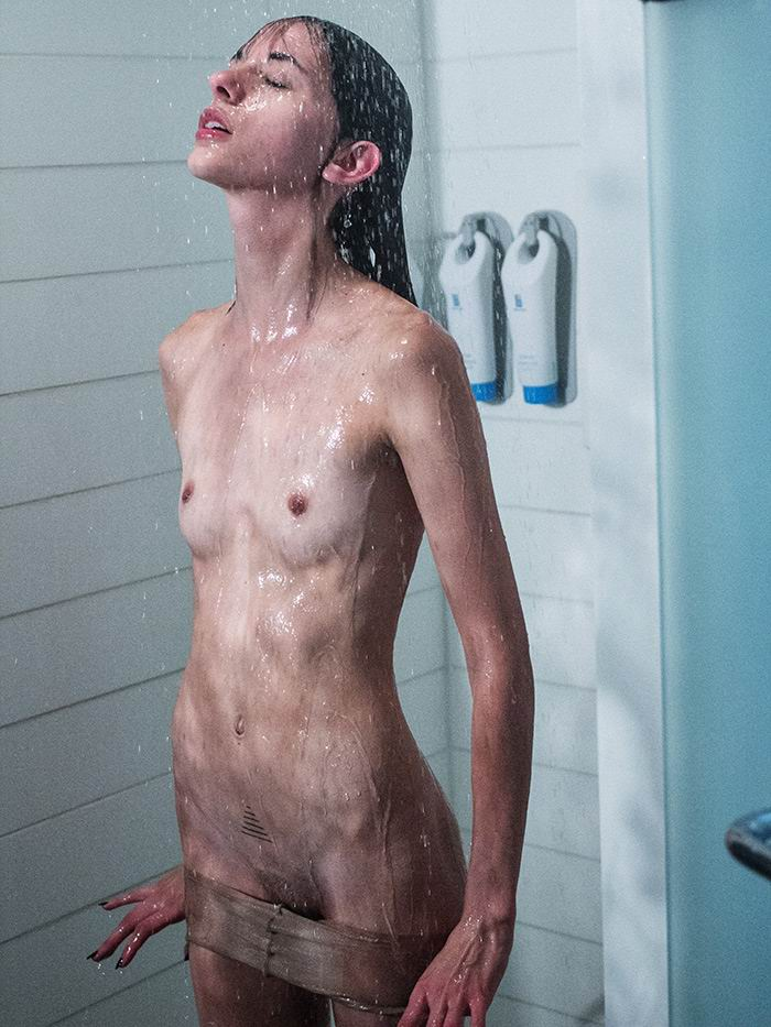 Naked skinny girls fetish