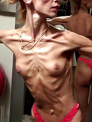Skinny Inna posing